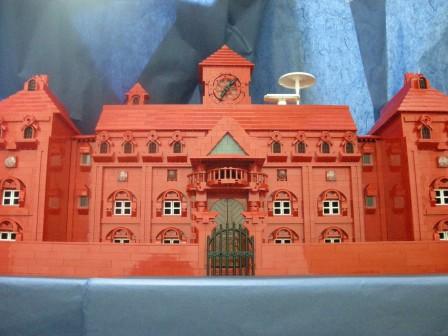 レゴで作った紅魔館。 | レゴ箱 -LEGO BOX-