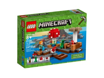 The Mushroom Island 21129 Minecraft™ Buy online at the Official LEGO® Shop MX