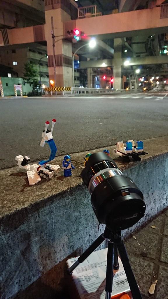 オモ写の夜景撮影方法