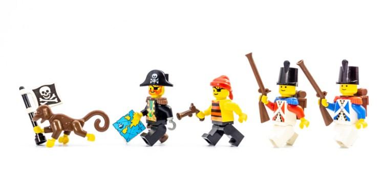 レゴ・南海の勇者シリーズのミニフィグ