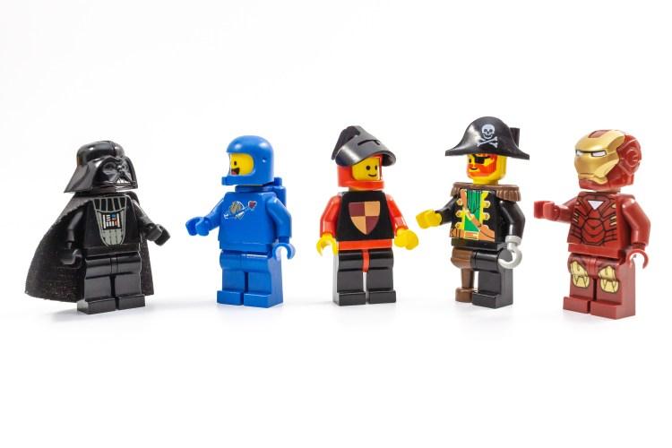 レゴのミニフィグ