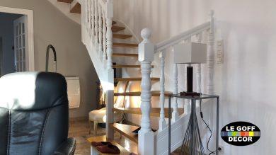 peinture escalier st guénolé