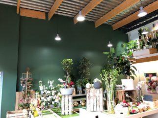 peinture au jardin des fleurs, pont l'abbé