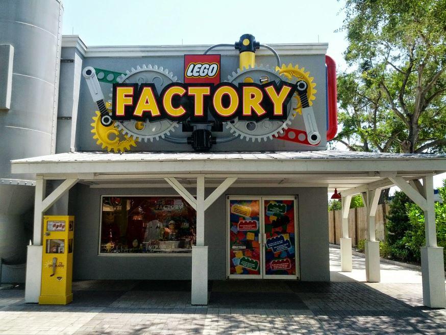 LEGOLAND Florida LEGO Factory Tour