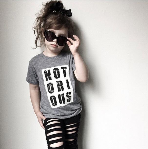 Trilogy Design Co. - Notorious Kids Tee Shirt