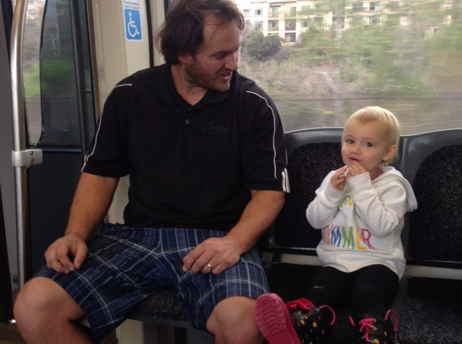 riding the bus with toddlers