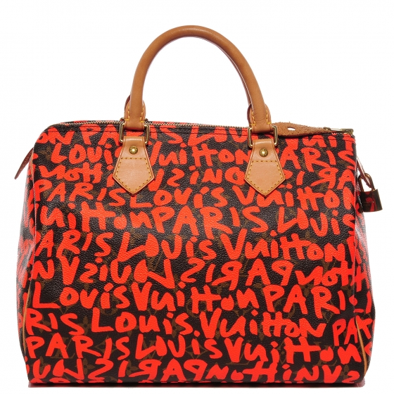 49edfd3830b2 authenticating a Limited Edition orange Monogram Graffiti Speedy 30. A  reader requested help authenticating a Louis Vuitton ...
