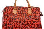 authenticating a Limited Edition orange Monogram Graffiti Speedy 30