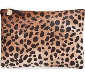 clare-v-calf-hair-leopard-print-zip-clutch