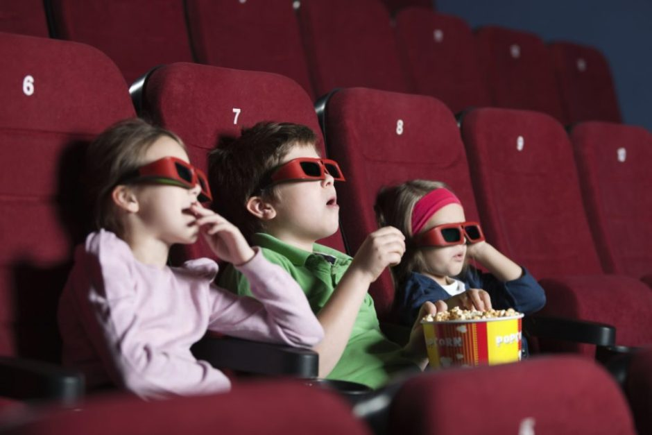 going to the movies with kids in san diego