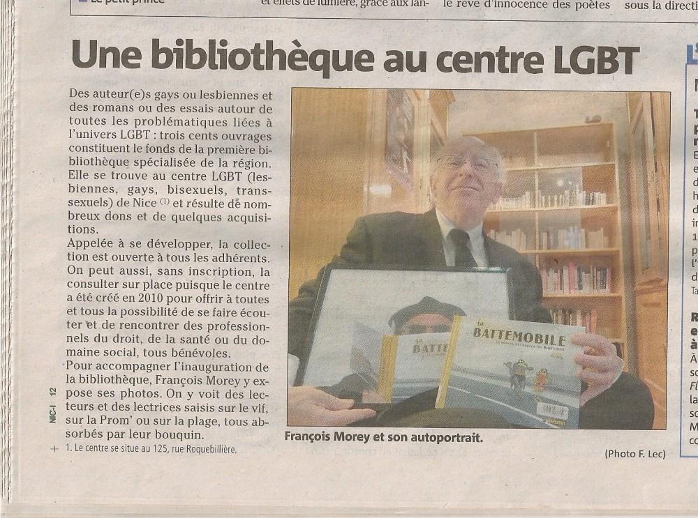 Les p'tits papiers d'un centre LGBT (interview) (4/5)