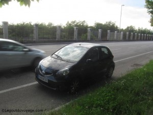 Toyota Aygo VIP - Viale Miramare - Trieste - Italie