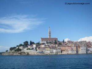 Ville de Rovinj en Croatie