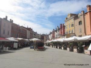 Vieille ville Rovinj - Croatie