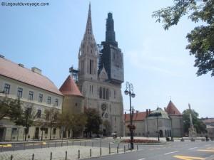La cathédrale Saint-Stéphane - Zagreb
