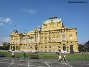 Théâtre national - Zagreb