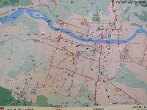 Plan centre-ville Maribor