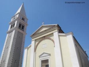 Eglise Saint Martin et son campanile - Vrsar