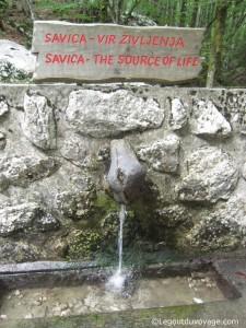 Savica : la source de la vie