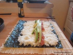 Ingrédients Maki