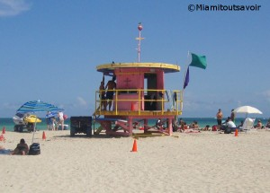 Poste de secours de South Beach