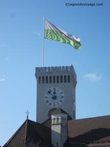 Tour du château de Ljubljana