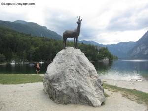 Statue du Zlatorog