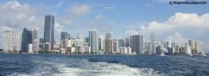 Vue panoramique de la ville de Miami
