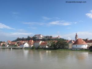 Ptuj et la rivière Drava