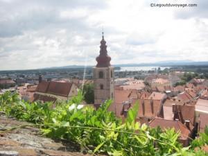 Vue depuis le château de Ptuj