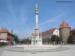 Colonne et Fontaine de Marie avec les anges – Zagreb