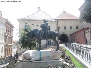 La bataille de Saint George et du dragon - Zagreb