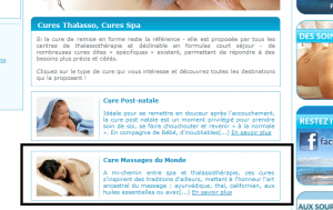 Thalasso-Line - Cures Thalasso, Cures SPA