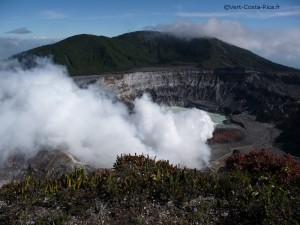 Volcan Poas au Costa Rica