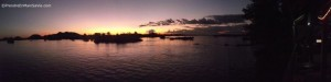 Coucher de soleil - Les 4 000 îles - Laos