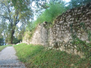 Murs médiévaux