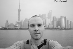 Mathieu du blog Noobvoyage - Shanghai