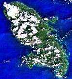 Image satellite Martinique