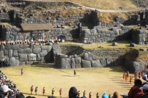 Cuzco sanctuaire Inca de sacsayhuaman inti raymi