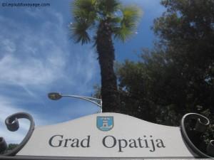 Ville d'Opatija – Istrie Croatie