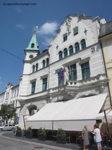 Hotel de ville - Mestni Trg - Idrija