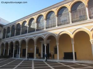 Chambre de commerce - Alcazar de Séville