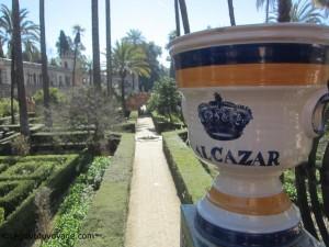 Jardins Alcazar de Séville
