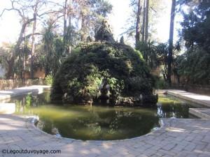 Jardin de la Cruz - Alcazar de Séville
