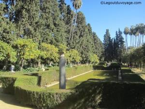Jardin de los Poetas - Alcazar de Séville