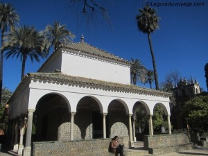 Pabellón de Carlos V - Les jardins de l'Alcazar