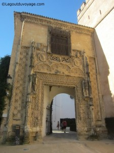 Puerta de Marchena - Alcazar de Séville