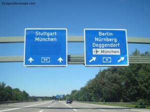 Aller en Slovénie - Allemagne