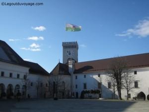 Visiter Ljubljana - le château de Ljubljana