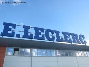 Leclerc à Ljubljana - enseigne